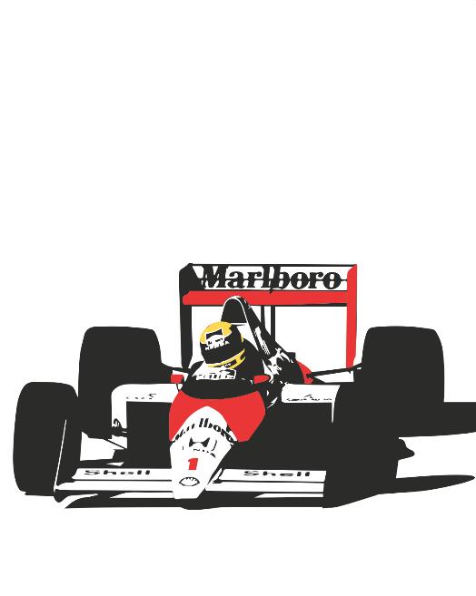 Ayrton Senna poster by PosterBoys on Etsy - Ayrton Senna S PNG
