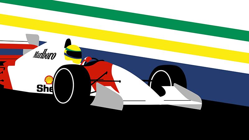 Ayrton Senna wallpaper, legends live forever PlusPng.com  - Ayrton Senna S PNG