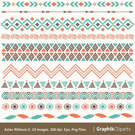 Aztec PNG Borders - 169977