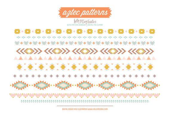 Aztec PNG Borders - 169994