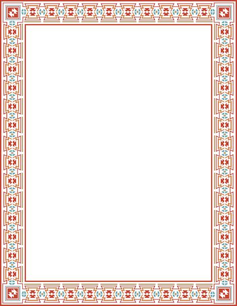 Aztec PNG Borders - 169976