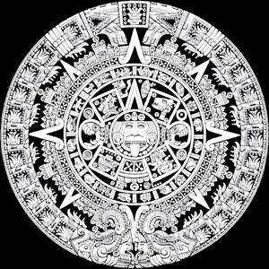 calendario azteca Logo. Format: AI - Azteca America Logo Vector PNG