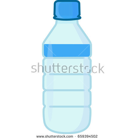 Water bottle colored vector icon - Azzaro Vector PNG