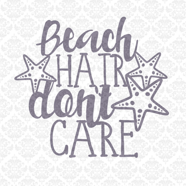 Beach Starfish Sand Babe Book Sun Summer Quote SVG DXF STUDiO PNG Ai Eps  Vector Instant Download Commercial Cutting File Cricut Silhouette - Babae PNG Black And White