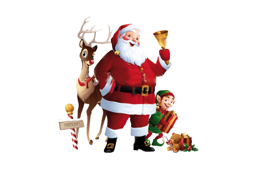 Babbo Natale PNG