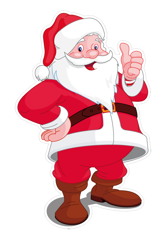 babbo-natale-8a - Babbo Natale PNG