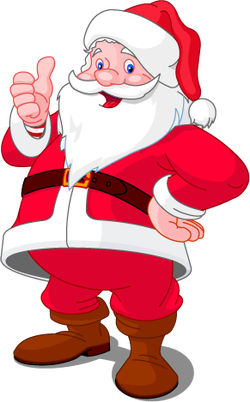 Dove si trova Babbo Natale? Lu0027unico, originale villaggio di Babbo Natale è  il Santa Claus Village che si trova in Finlandia, a otto chilometri dalla  città PlusPng.com  - Babbo Natale PNG