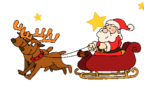 Gentili Genitori, Slitta Babbo Natale - Babbo Natale PNG
