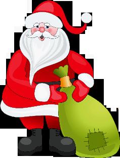 . PlusPng.com il laboratorio di Babbo Natale somiglia più ad un centro di smistamento  di giocattoli confezionati che a unu0027officina dove vengono costruiti. - Babbo Natale PNG