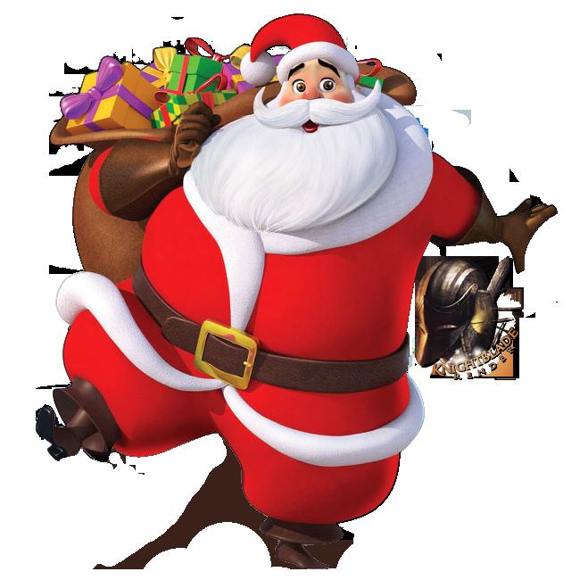 Lettere di Babbo Natale da stampare - Babbo Natale PNG