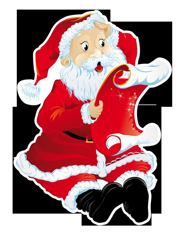 Vetrofania Babbo Natale 4 - Babbo Natale PNG