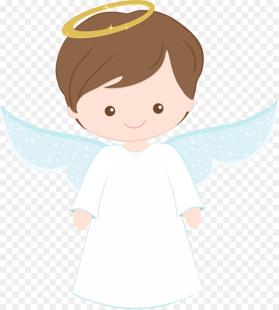 Baptism First Communion Clip art - angel baby - Baby Baptism PNG HD