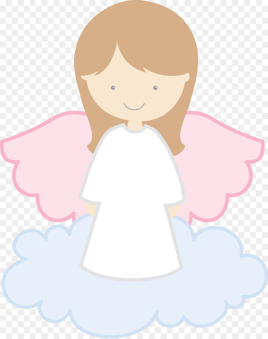 First Communion Drawing Baptism Angel - angel baby - Baby Baptism PNG HD