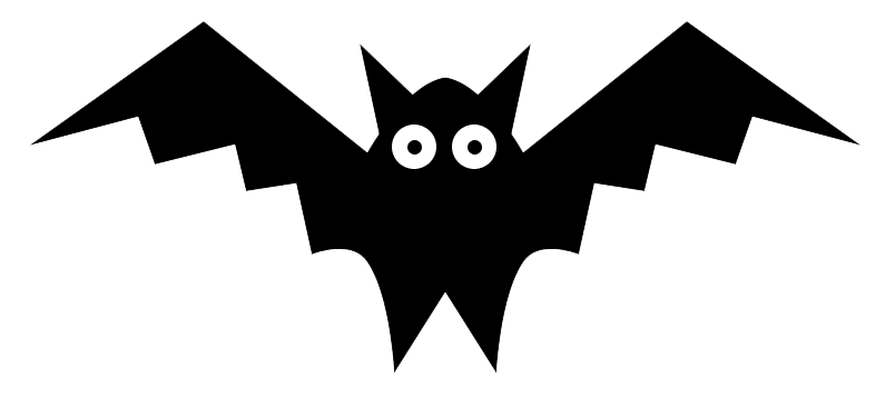 cartoon-bat-clipart - Baby Bat PNG