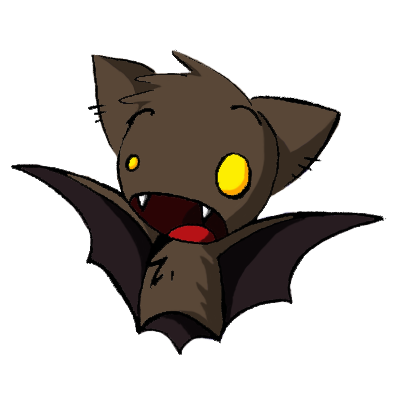 cute bat cartoon | Cute bat photo bat.png - Baby Bat PNG