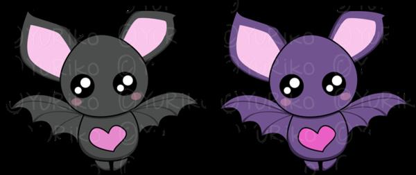 Cute bats by o-YuRiko-o PlusPng.com  - Baby Bat PNG