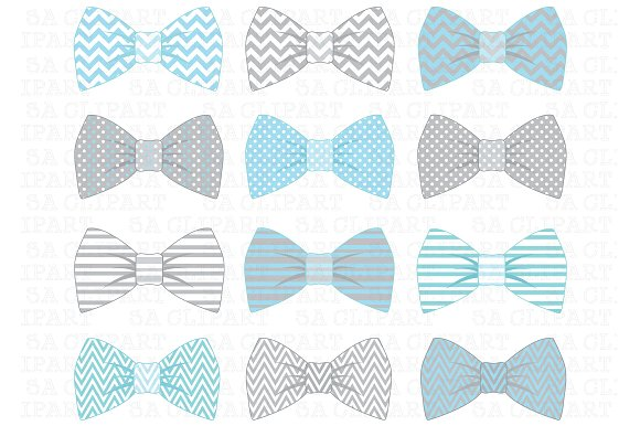 Baby Blue Bow Tie PNG-PlusPNG.com-580 - Baby Blue Bow Tie PNG