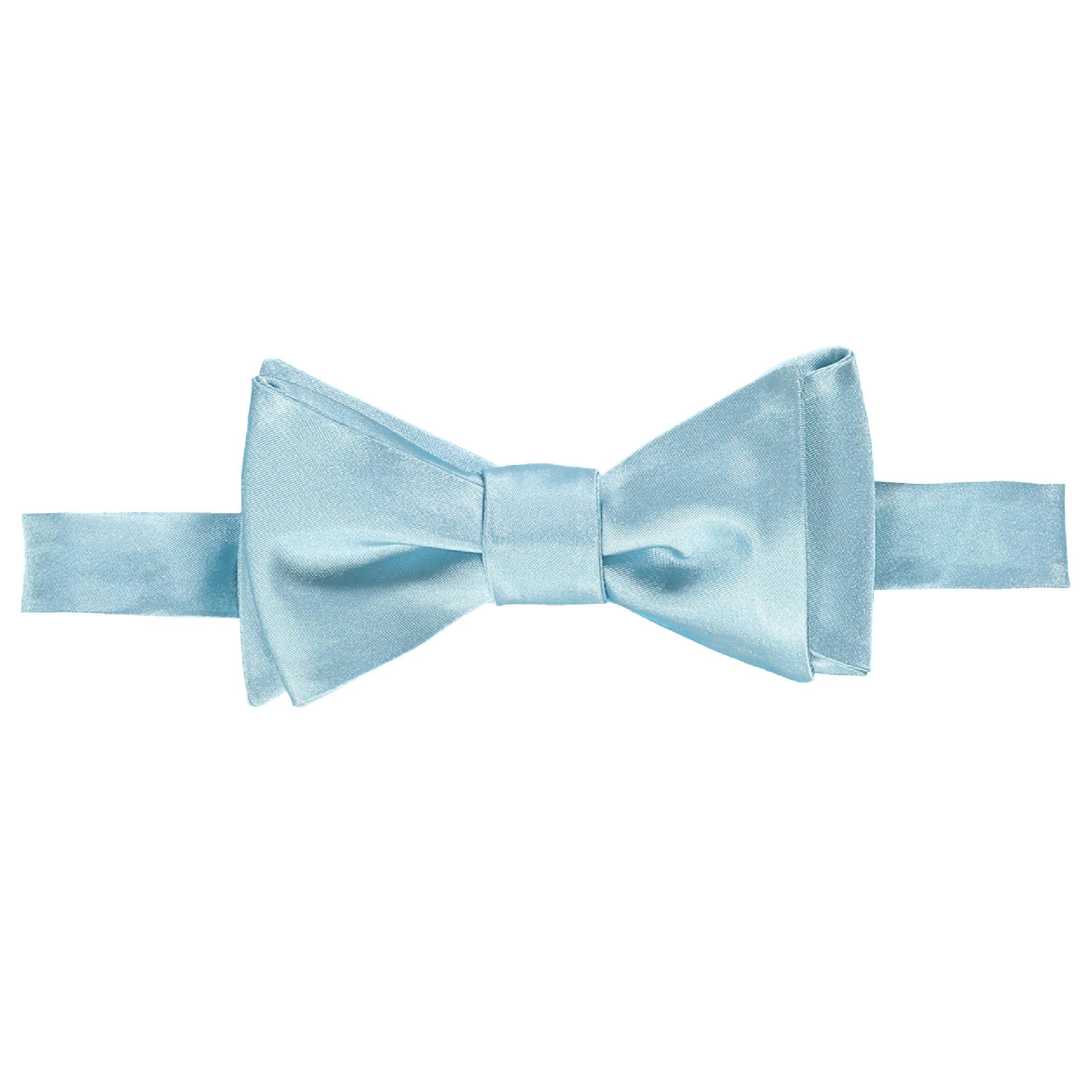 bow-tie-silk-light-blue-1 PlusPng.com  - Baby Blue Bow Tie PNG
