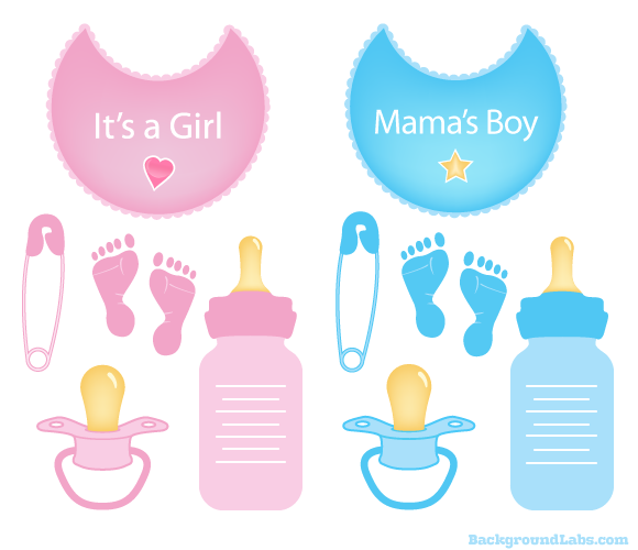 Baby Boy Items PNG - 48232