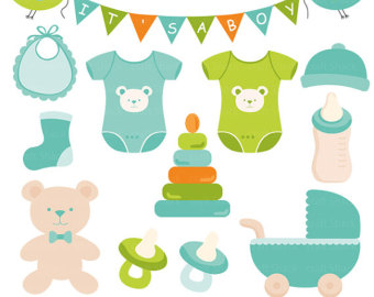 Baby Boy Items PNG - 48228