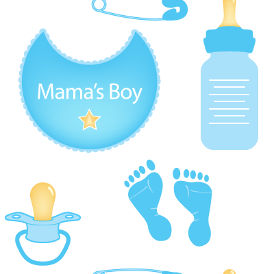 Baby Boy Items PNG