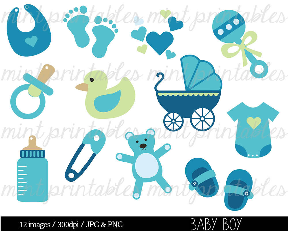 Baby Boy Items PNG - 48229
