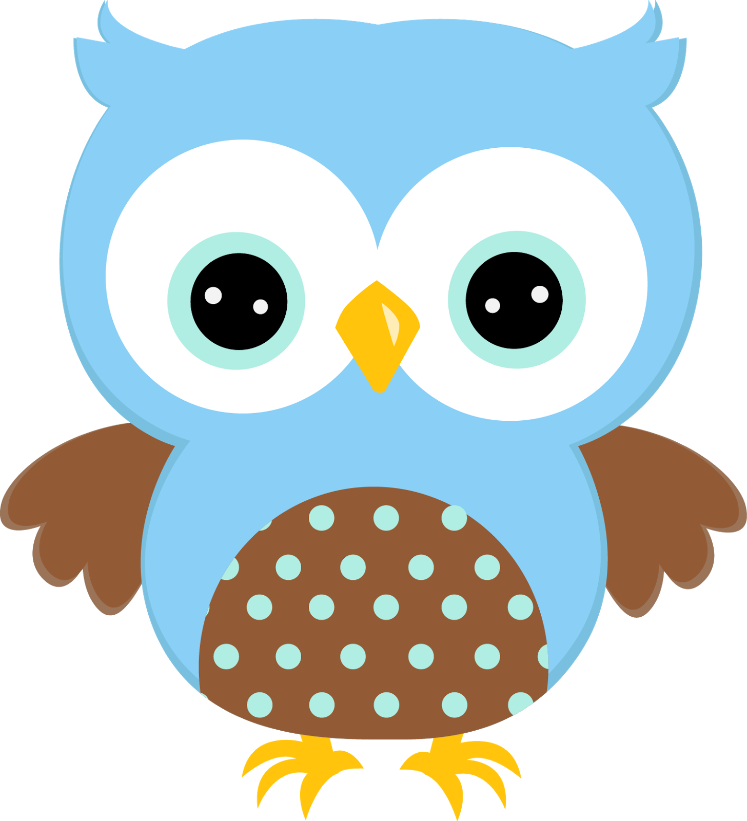 Baby Boy Owl PNG