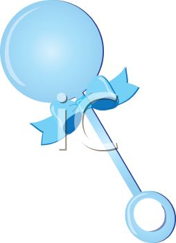 Baby Boy Rattle PNG-PlusPNG.c