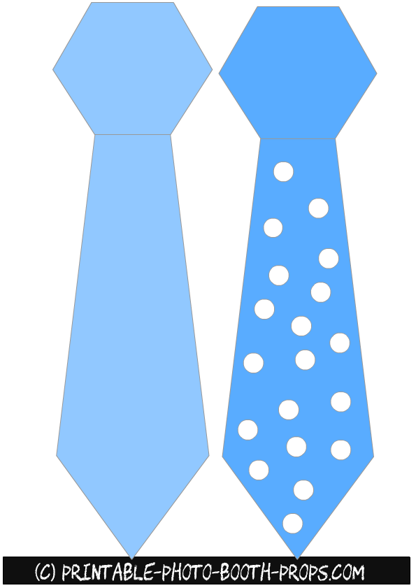 Neck Ties Props for Boy Baby Shower - Baby Boy Tie PNG