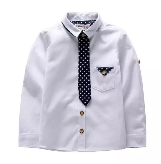 PFS33 casual long sleeve boys shirts with tie design 2 9 age baby boy shirt  children clothing 6pcs / lot free shipping-in Shirts from Mother u0026 Kids on  PlusPng.com  - Baby Boy Tie PNG