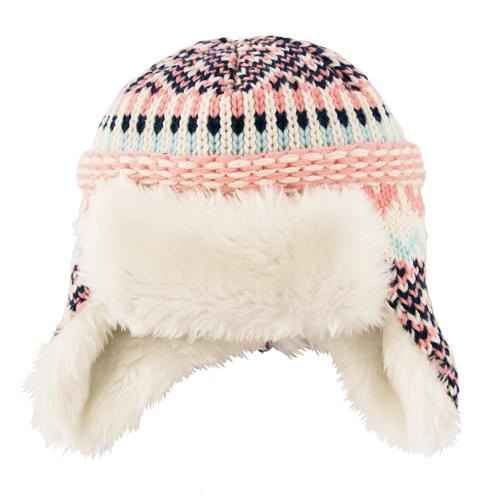 Fairisle Baby Hat - Baby Cap PNG