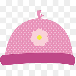 pink baby hat, Cotton Fabric, Baby, Hat PNG and Vector - Baby Cap PNG