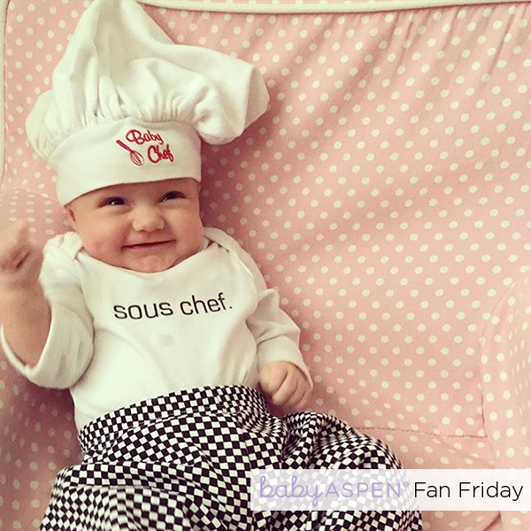 Baby Chef Baby Aspen Fan Photo by @crismeloy via Instagram - Baby Chef PNG