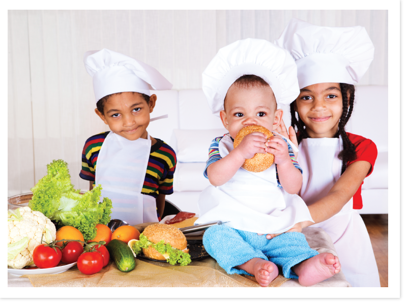 Be your babyu0027s organic chef! - Baby Chef PNG