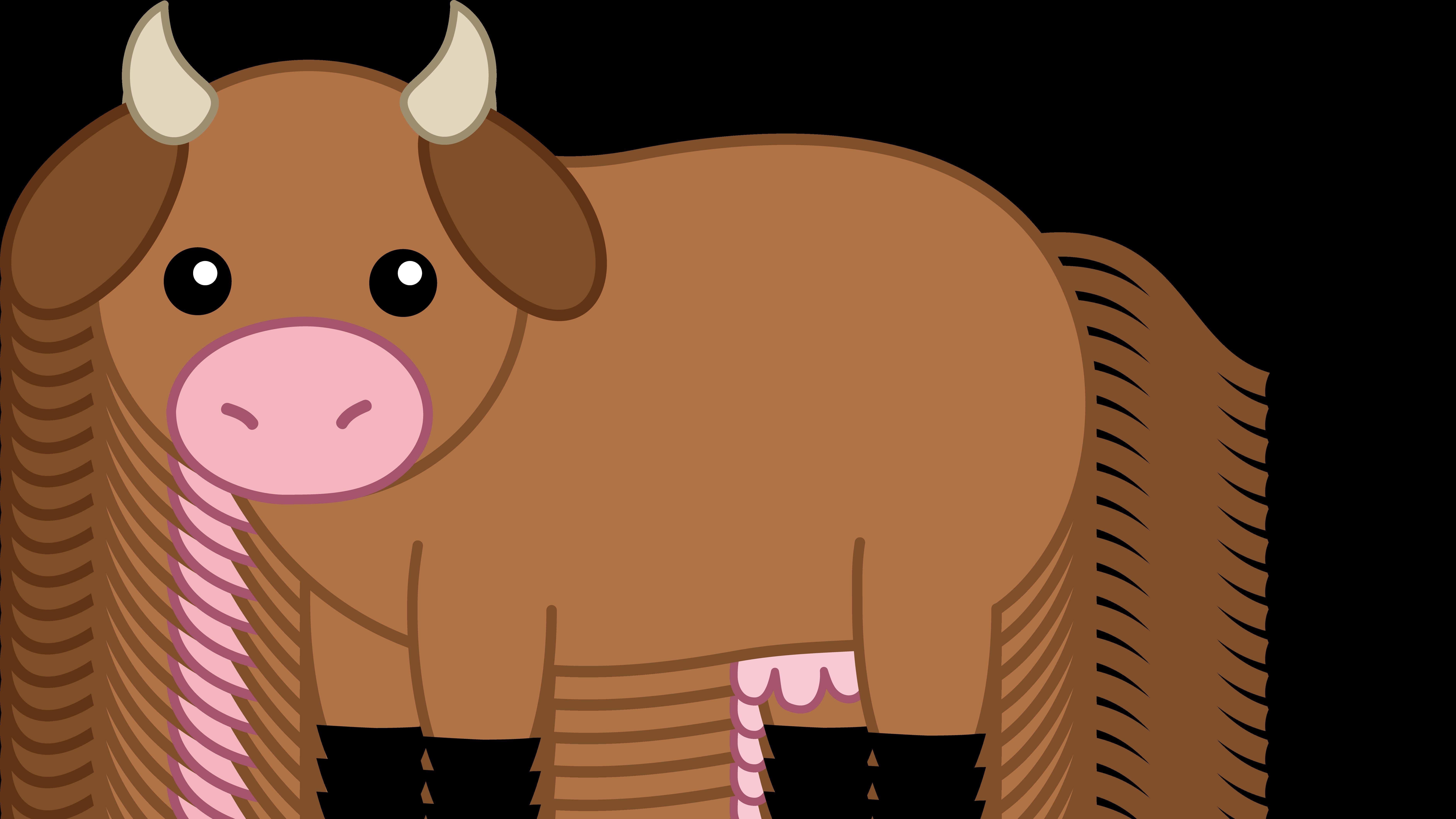 Animal clipart hd desktop - Baby Cow PNG HD
