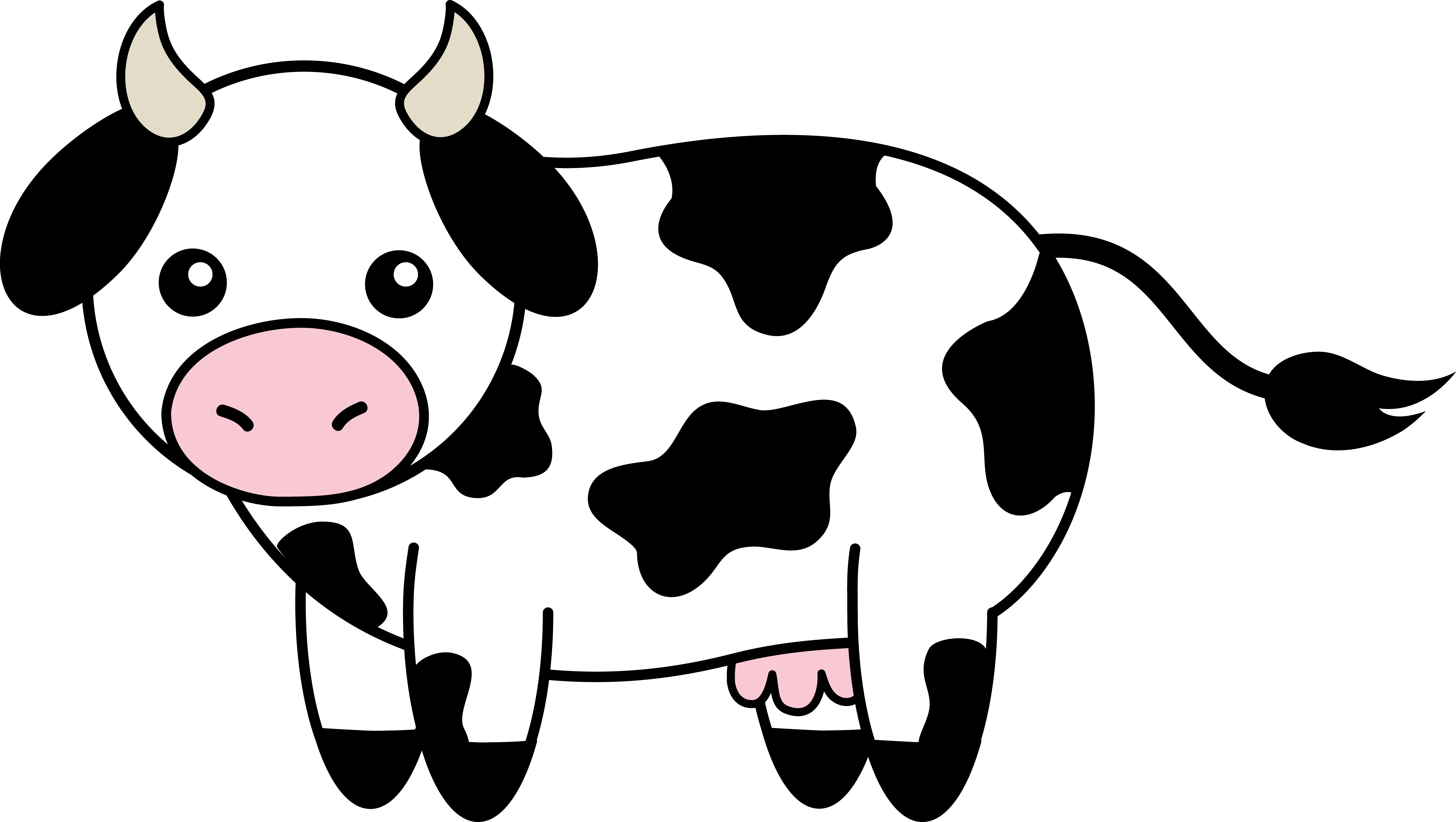Cute Baby Cow Clipart | Clipart library - Free Clipart Images - Baby Cow PNG HD