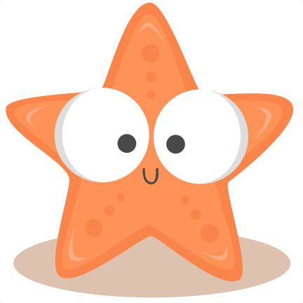Baby Starfish Background Clipart #1 - Baby Crab PNG