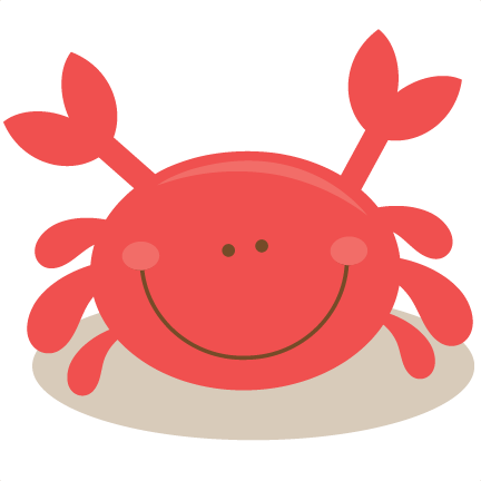 Crab SVG cutting files for scrapbooking ocean svg cut files ocean svg cuts  beach svg files - Baby Crab PNG