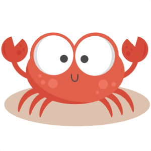 Daily Freebie 5-17-14: Miss Kate Cuttables--Crab SVG cutting - Baby Crab PNG