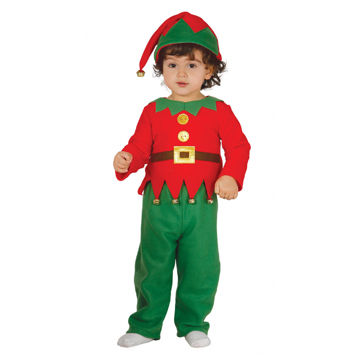 Image is loading Baby-amp-Toddler-ELF-SUIT-Christmas-Kids-Fancy- - Baby Elf PNG