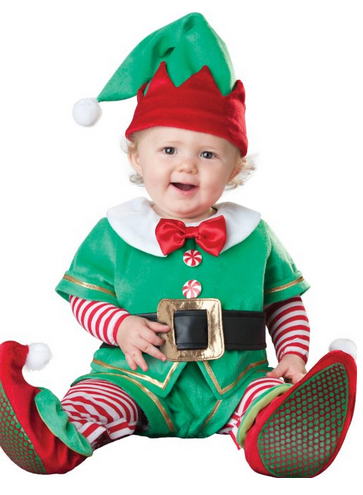 Santau0027s Lil Elf Costume 10 Santa Costumes For Baby Girls To Buy On This  #Christmas - Baby Elf PNG