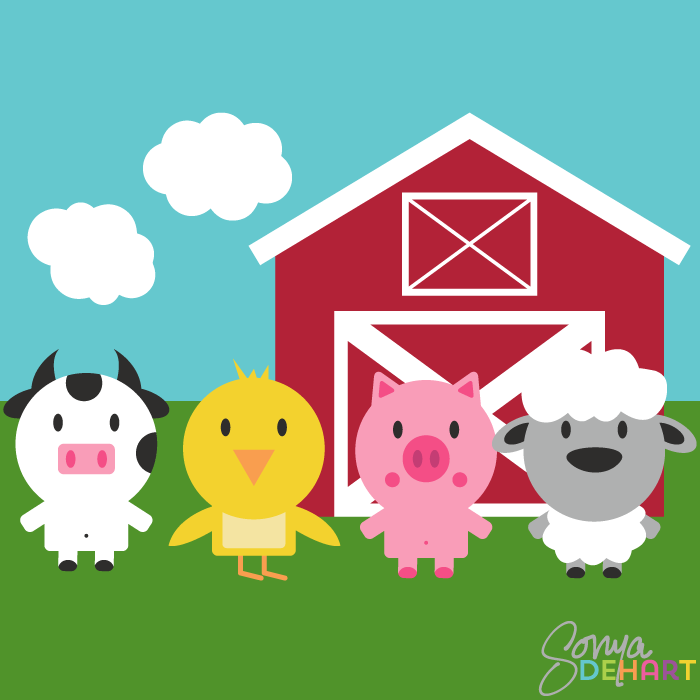 Baby Farm Animals PNG HD-PlusPNG.com-700 - Baby Farm Animals PNG HD