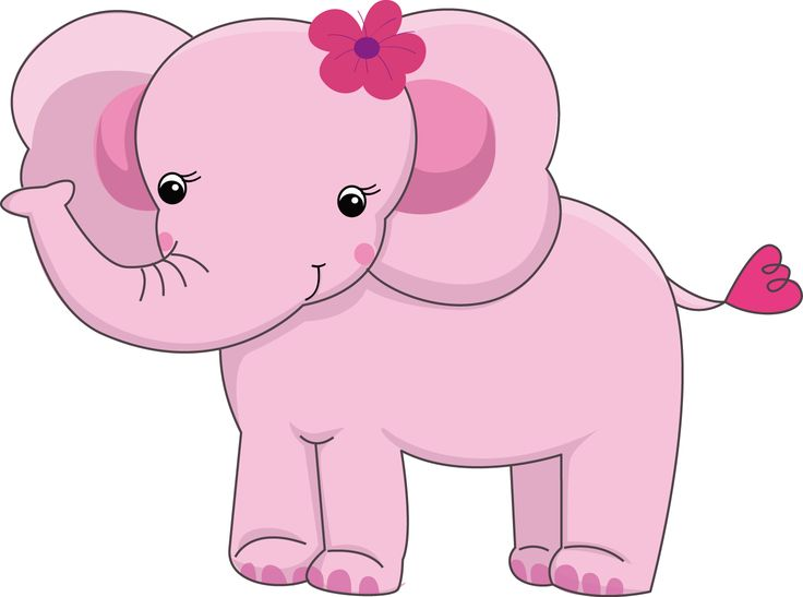 Pretty Pink Girly Jungle Animals - Pretty Pink Girly Jungle Animals_02.png  - Minus - Baby Farm Animals PNG HD