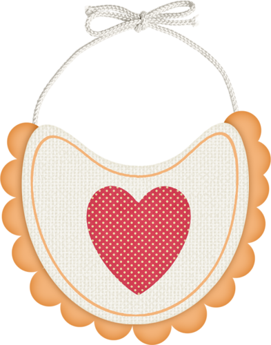 Baby Girl Bibs PNG-PlusPNG.co