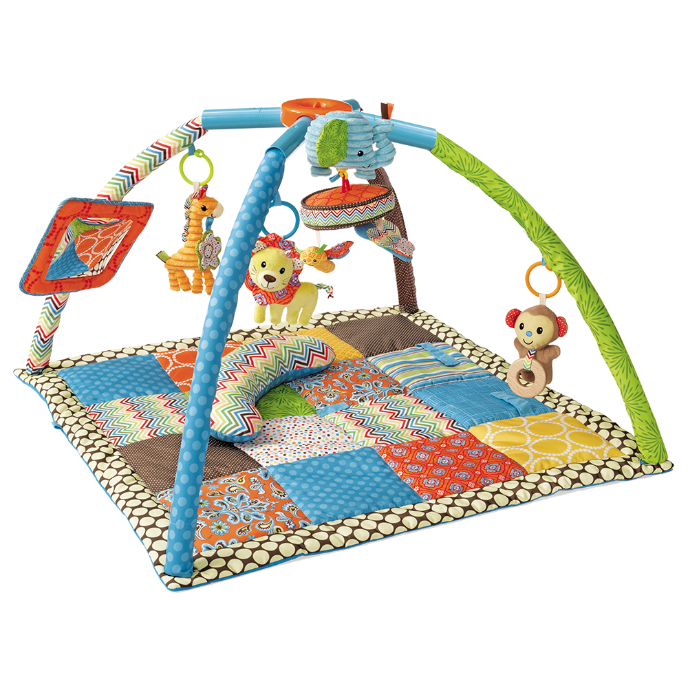 Deluxe Twist U0026 Fold Activity Gym U0026 Playmat0m Ref. #005019 - Baby Gym PNG