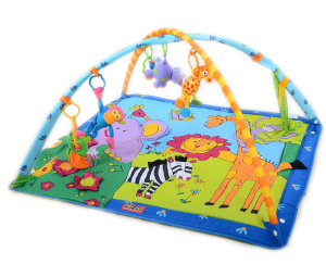 Tiny-love-gymini-play-mat-activity-gym-baby- - Baby Gym PNG