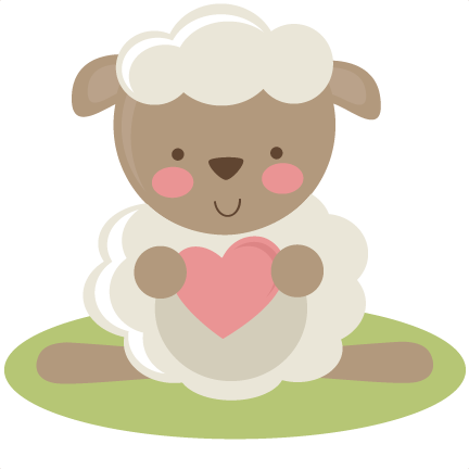 large_cute-lamb.png - Baby Lamb PNG