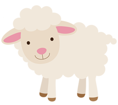 Little lamb emoticon - Baby Lamb PNG