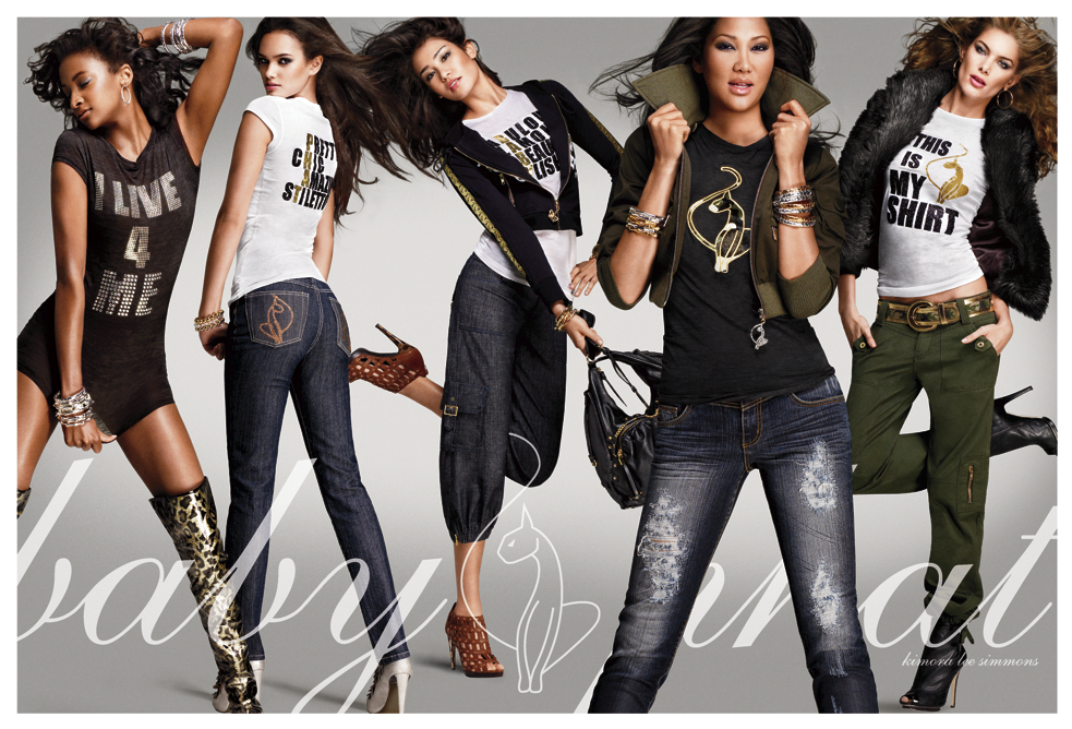 . PlusPng.com Baby Phat Denim Spread PlusPng.com  - Baby Phat Clothing PNG