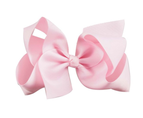 Baby Pink Bow PNG-PlusPNG.com
